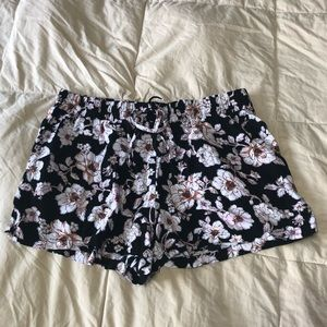 Gypsies and Moondust Floral Shorts